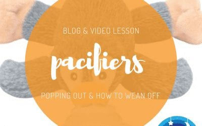 Pacifiers: Popping out and How to Wean Off