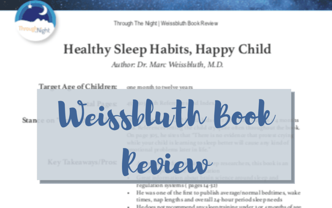 🔥Oh baby!🔥 or 🙅♀️ No baby.🙅♀️  – Weissbluth Book Review