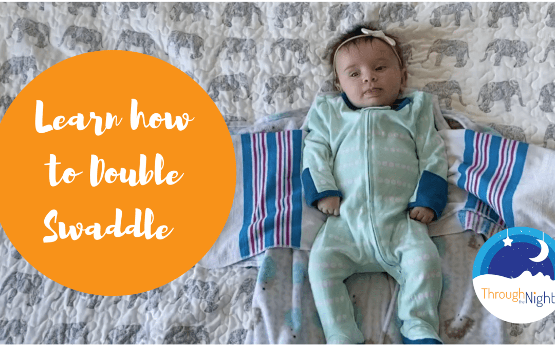 Visual of Baby ready for Double Swaddle